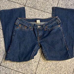 True Religion bootcut jeans, size 32